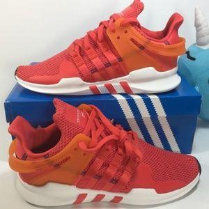 NIB!Adidas EQT Support ADV 'Real Coral' Sz 10